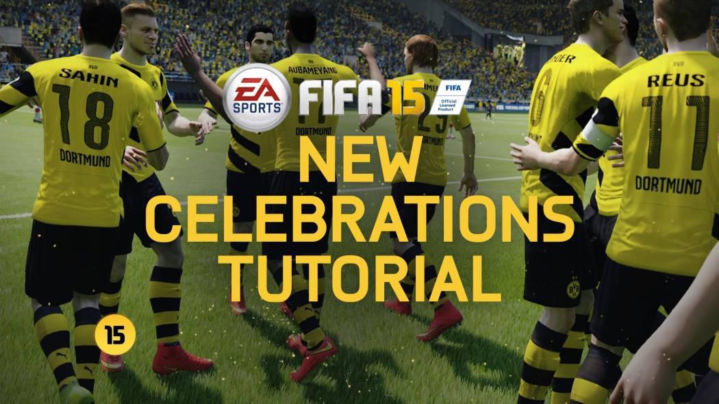 Fifa 15 ne prezintă un scurt tutorial pentru celebrări