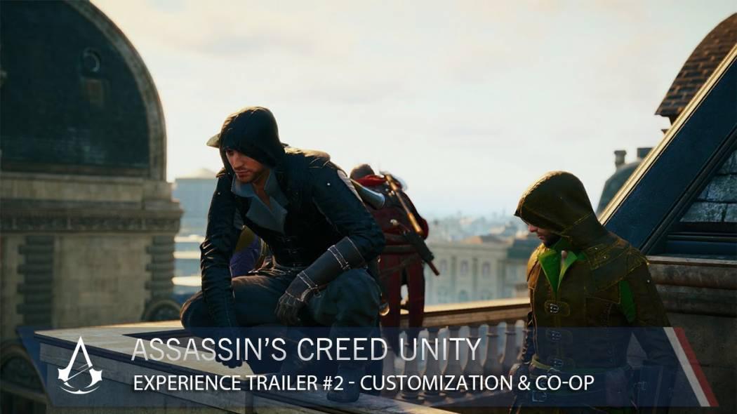 Noul trailer pentru Assassin's Creed: Unity ne prezintă customizarea și modul co-op