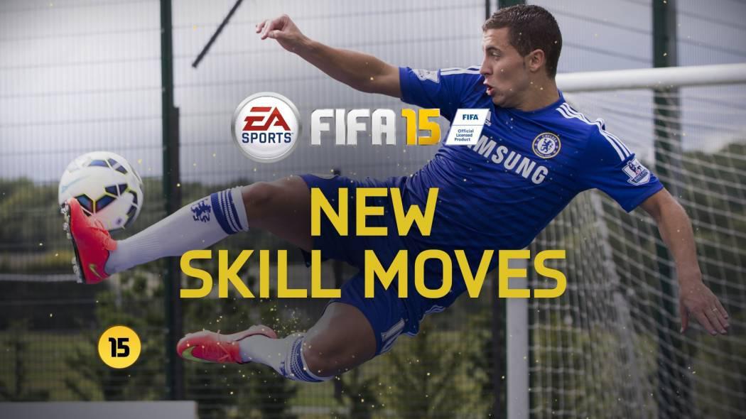 Trailer ce prezintă diferitele mișcări din FIFA 15