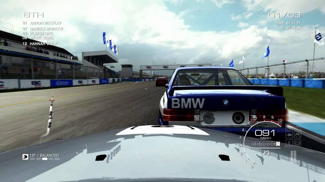 Trailer ce prezintă pack-ul Touring Car Legends pentru GRID Autosport