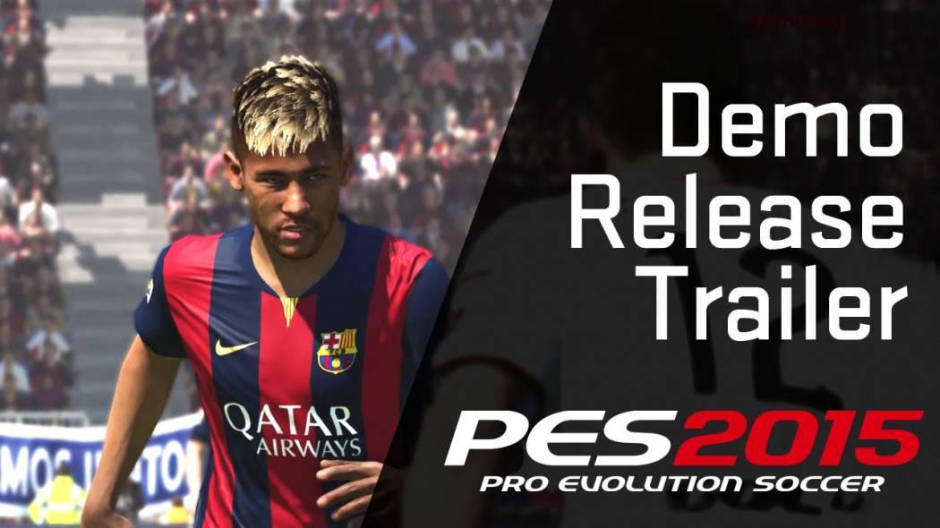 Trailer pentru lansarea versiunii demonstrative pentru Pro Evolution Soccer 2015