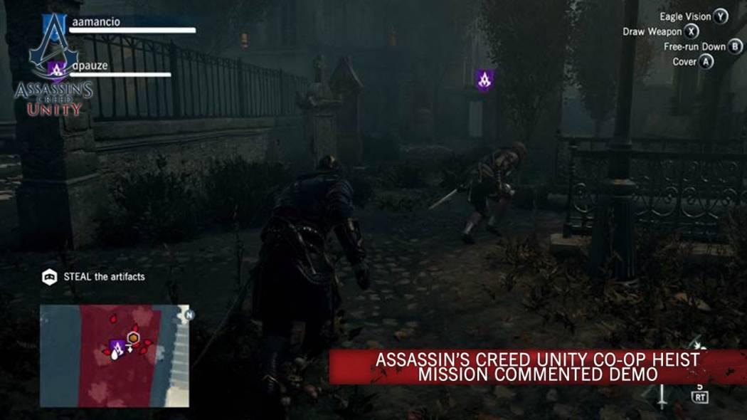Ubisoft ne prezintă misiunile co-op de jaf din Assassin's Creed: Unity