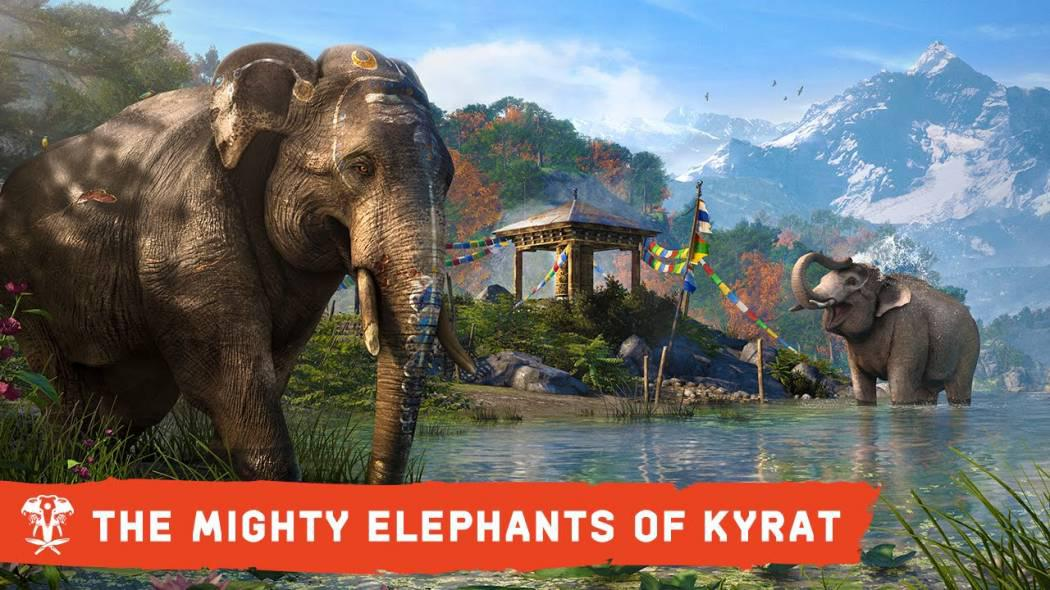 Ubisoft ne prezintă puternicii elefanți din Far Cry 4