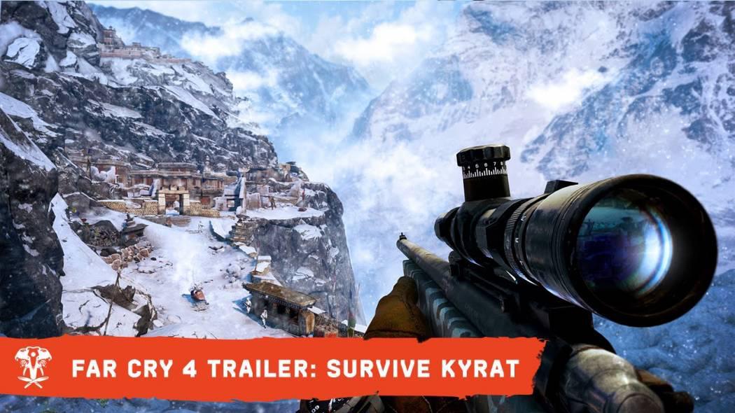 Supraviețuiește în Kyrat în noul trailer pentru Far Cry 4
