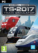 Train Simulator 2017 PC Box Art Coperta