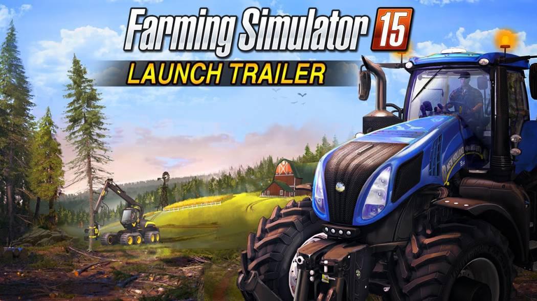 Farming Simulator 15 primește trailer de lansare