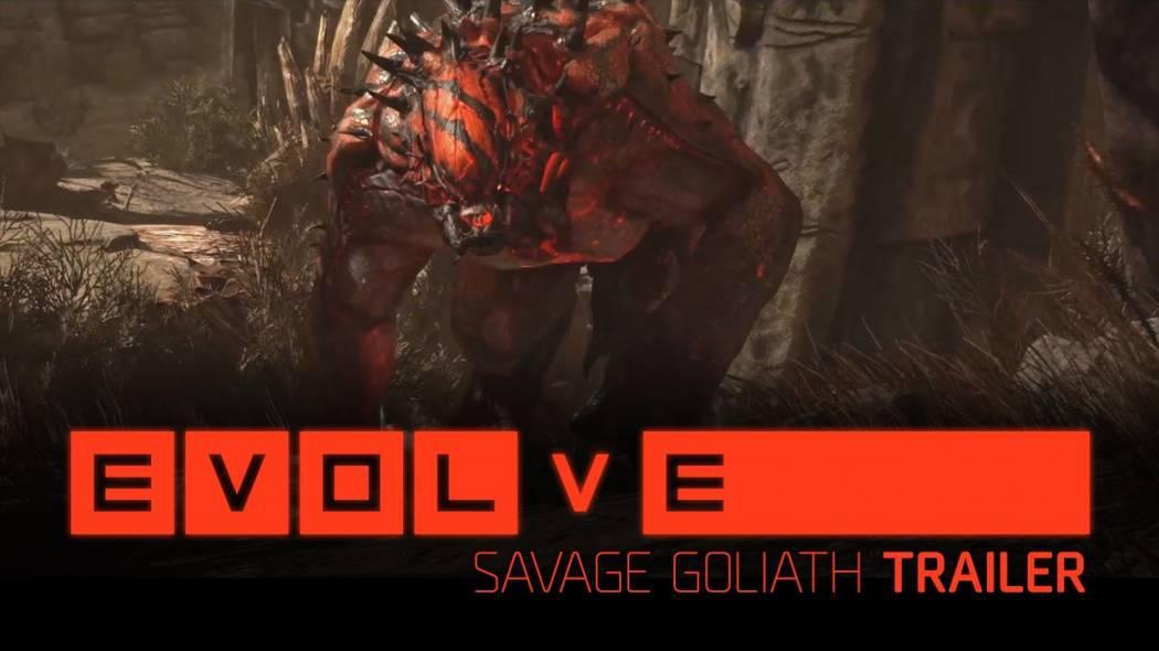 Monstrul Goliath din Evolve ne este afișat în noul trailer