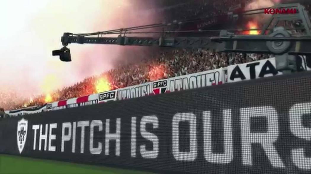 Pro Evolution Soccer 2015 primește un nou trailer ce se axează pe liga braziliană