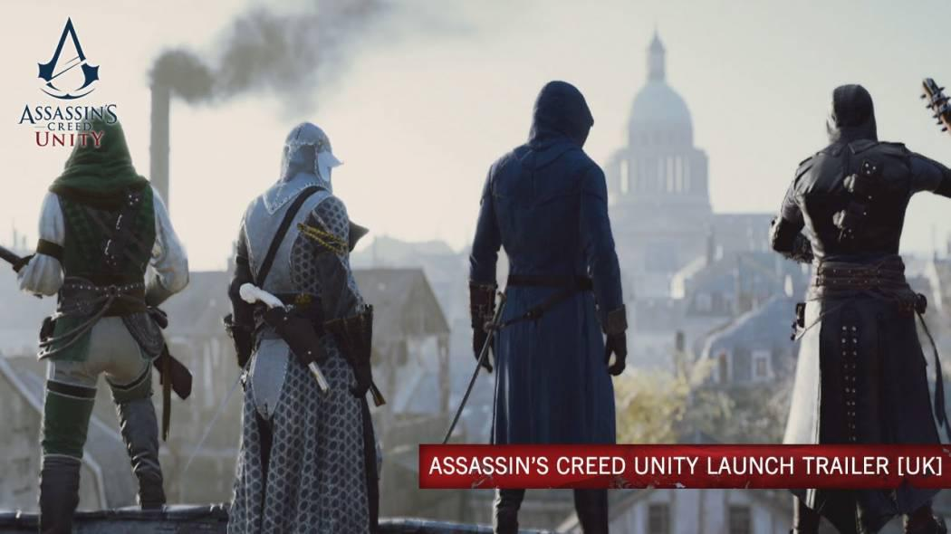 Assassin's Creed: Unity primește trailer de lansare