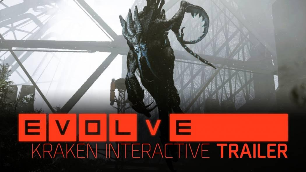 Evolve primește trailer interactiv