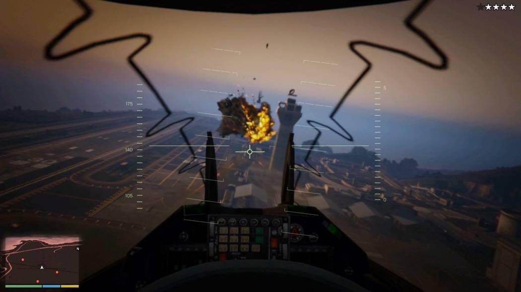Experiență de joc la persoana întâi prezentată pentru Grand Theft Auto V