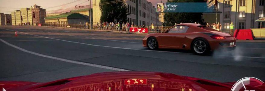 Mașini rapide în gameplay-ul din Moscova pentru World of Speed