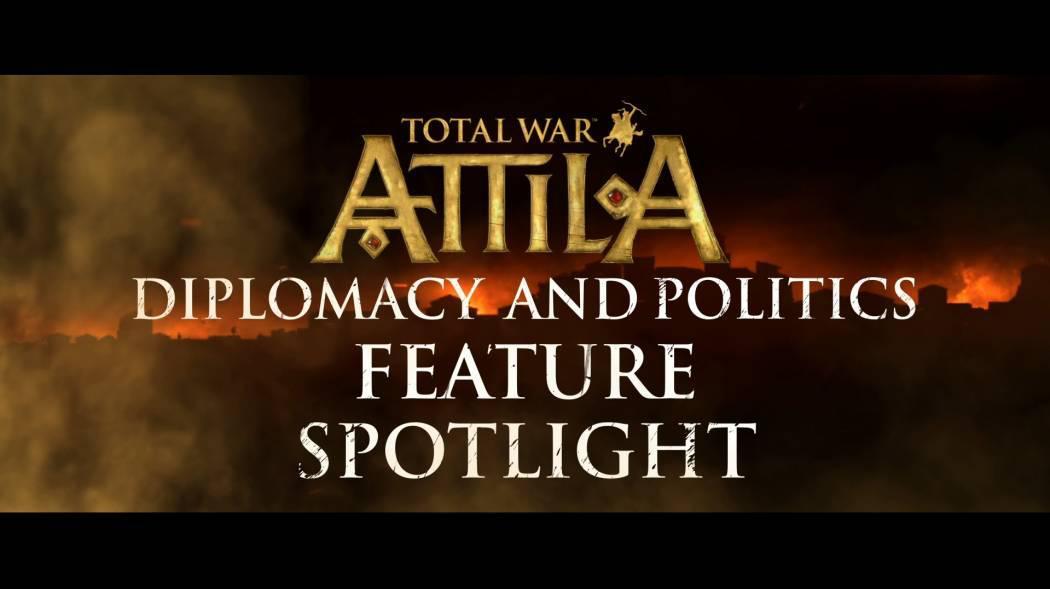 Total War: Attila primește trailer ce prezintă diplomația și arborele familiei