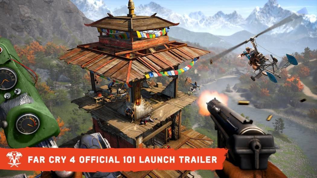 Trailerul de lansare pentru Far Cry 4 ne prezintă tot ceea ce trebuie să știm despre joc