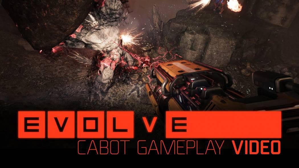 William Cabot, al treilea erou de suport ne este prezentat într-un nou trailer pentru Evolve