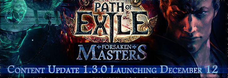 Path Of Exlie Update