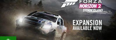 Forza Horizon 2 a primit trailer pentru DLC-ul Storm Island