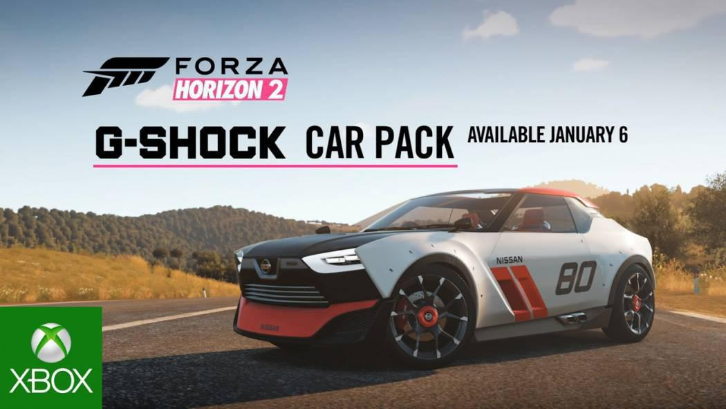 Forza Horizon 2 primește trailer pentru G-Shock Car Pack
