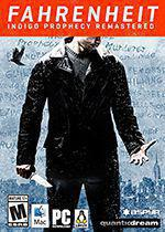 Fahrenheit Indigo Prophecy Box Art Cover