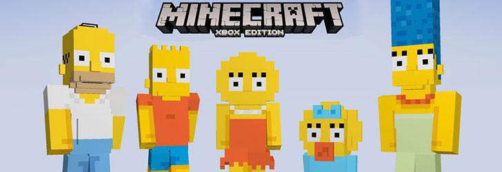 The Simpsons apar în Minecraft