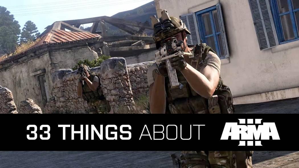 Arma III a lansat un trailer ce ne prezintă 33 de motive pentru a juca jocul