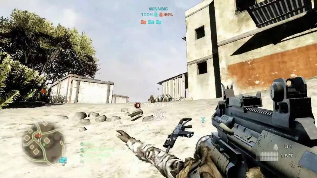 Battlefield: Bad Company 2 – Gameplay