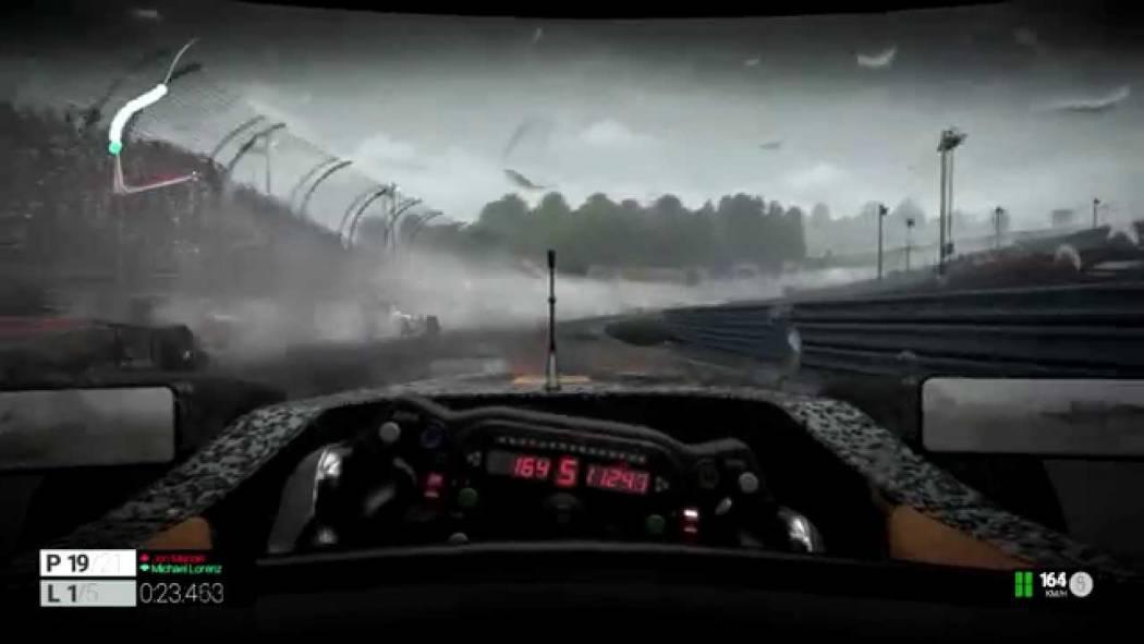 Condiții de ploaie toridă în Project CARS
