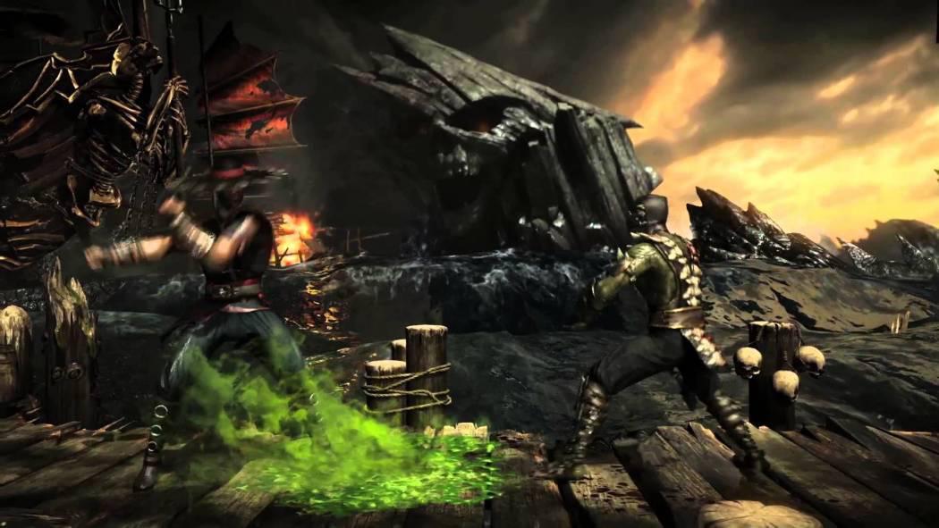 Mortal Kombat X primește trailerul Reptile