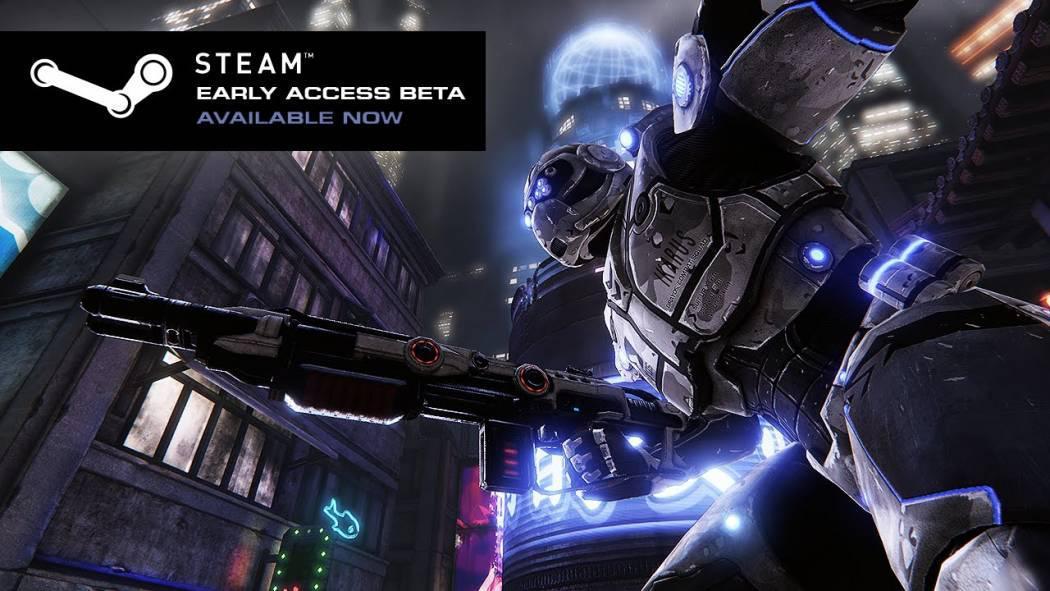 Toxikk este acum disponibil pe Steam Early Access