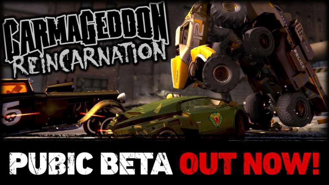 Carmageddon: Reincarnation primește trailer ce anunță public beta