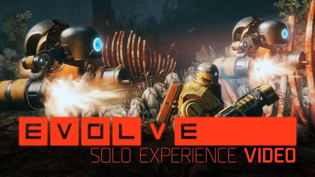 Evolve prezintă experiența single-player și aplicația mobile