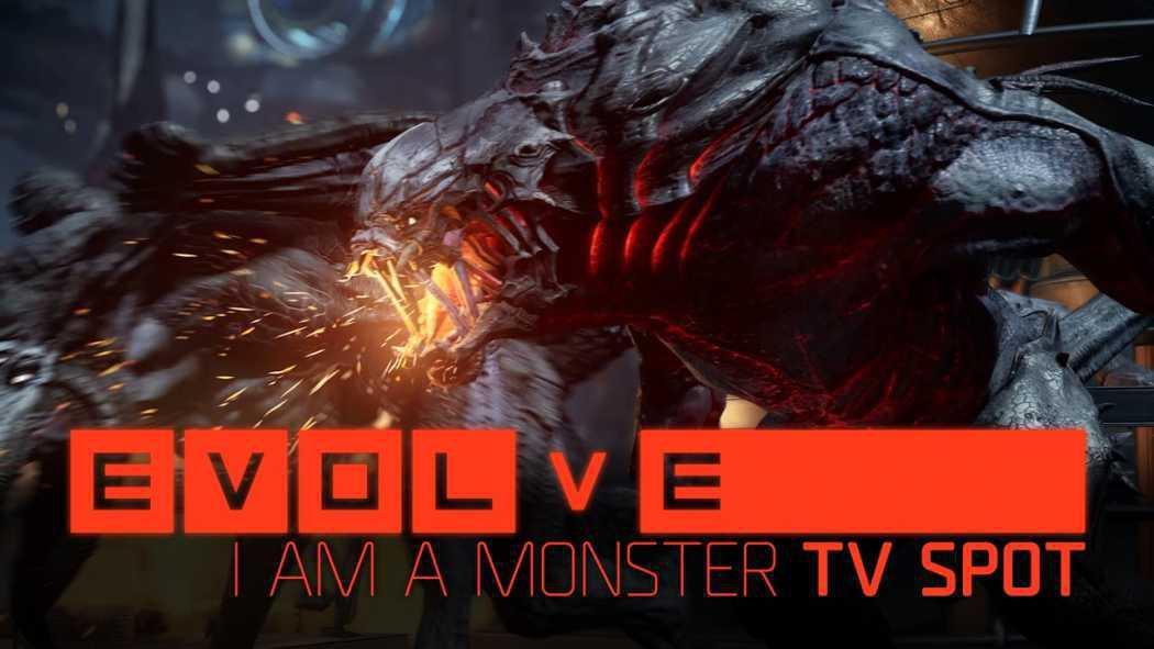 Evolve prezintă monologul unui jucător ce devine monstrul