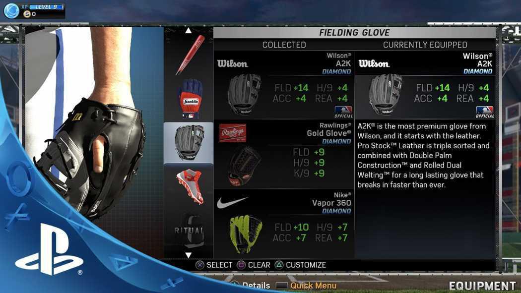 MLB 15: The Show primește videoclip ce detaliază echipamentul și altele