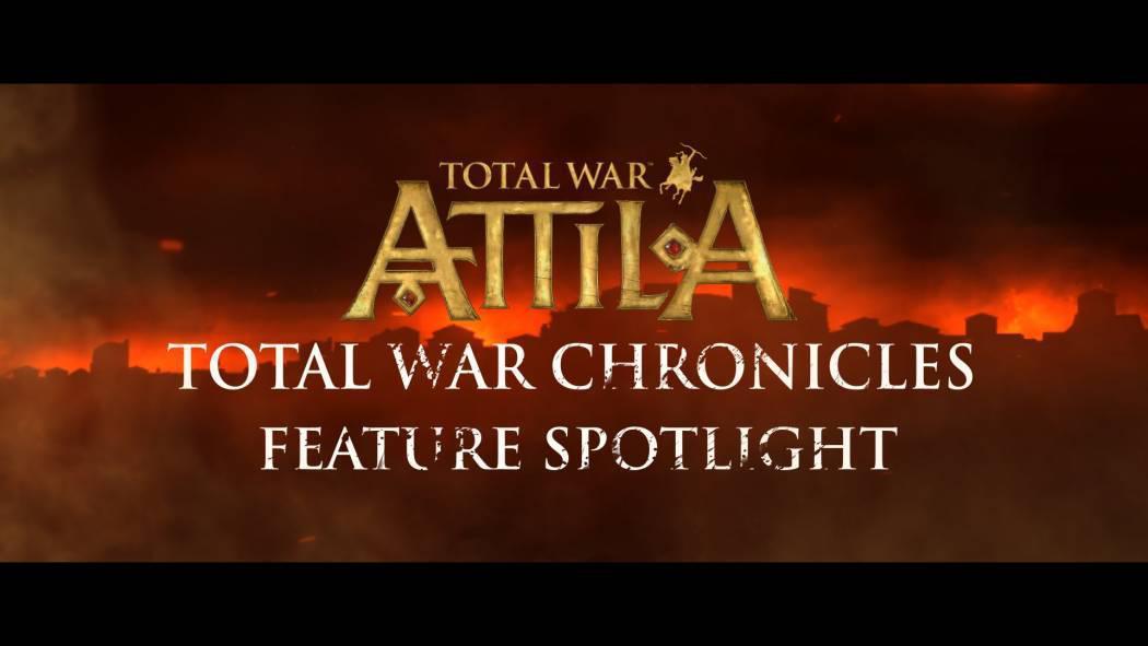 Prin Total War Chronilces veți putea împărtăți progresul în campania din Total War: Attila
