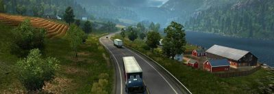 Imagini Euro Truck Simulator 2: Scandinavia