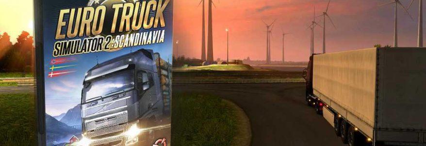 DLC-ul Scandinavia pentru Euro Truck Simulator 2 a primit dată de lansare