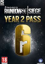 Tom Clancy's Rainbow Six Siege Year 2 Season Pass PC Box Art Coperta
