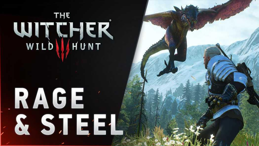 "The Witcher 3: Wild Hunt primește trailerul ""RAGE & STEEL"""