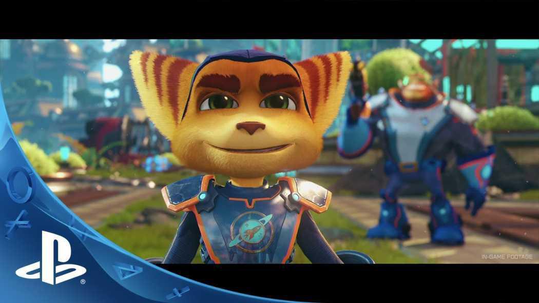 Ratchet & Clank a primit trailer pentru PS4