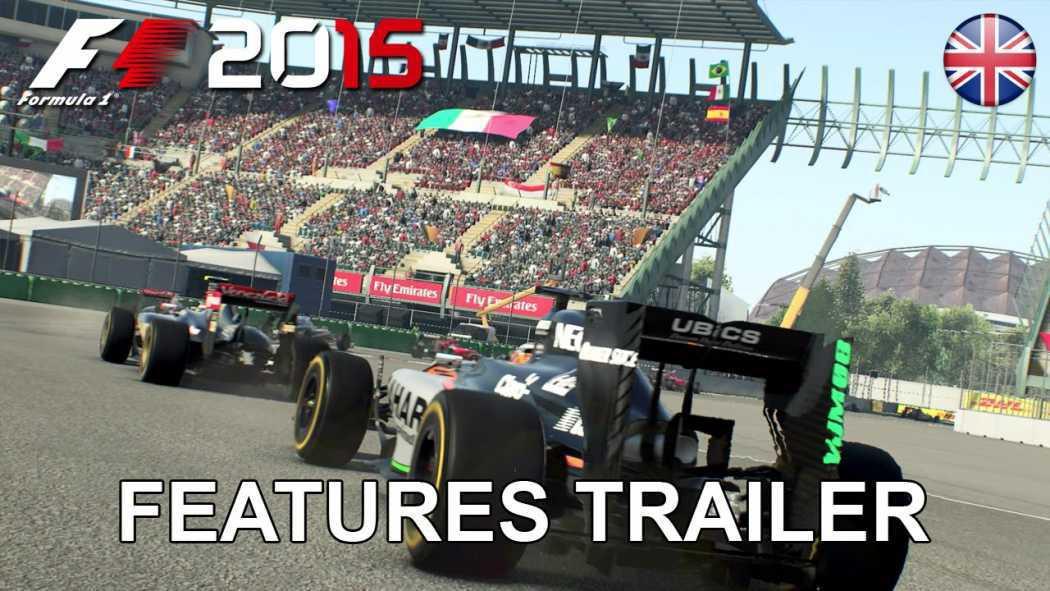 F1 2015 a primit trailer ce prezintă caracteristicile jocului