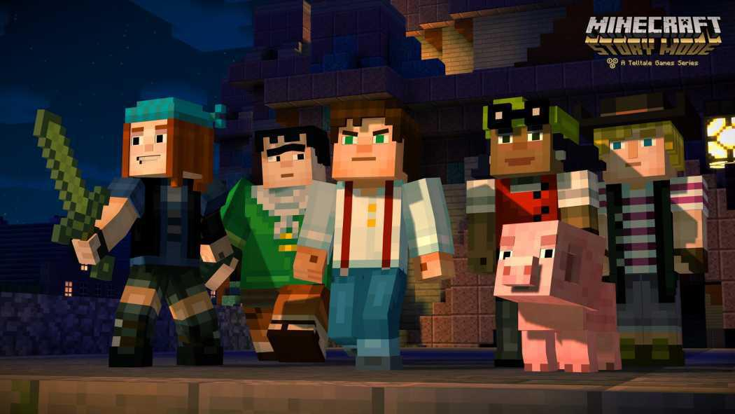 Minecraft: Story Mode a primit trailer oficial