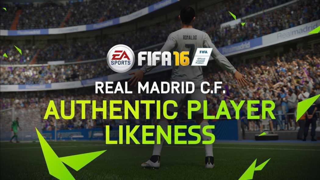 Real Madrid C.F. va arăta fenomenal în FIFA 16