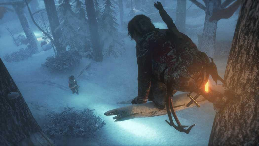 Rise of the Tomb Raider a primit o lungă demonstrație