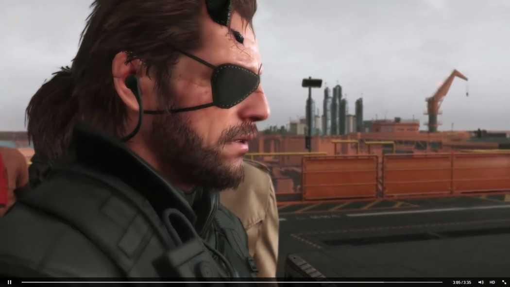 Metal Gear Solid V: The Phantom Pain trailer 4K la 60FPS