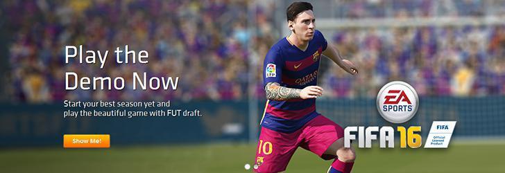 FIFA 16 Demo este acum disponibil pe PC