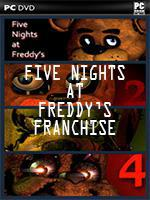 Five Night's At Freddy's Franchise Box Art Coperta