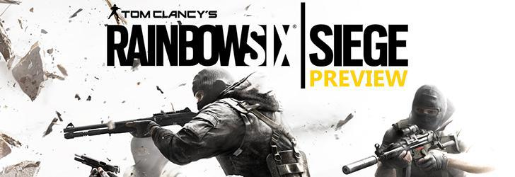 Tom Clancy's Rainbow Six Siege Preview