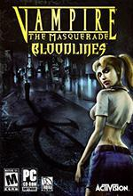 Vampire The Masquerade Bloodlines coperta box art