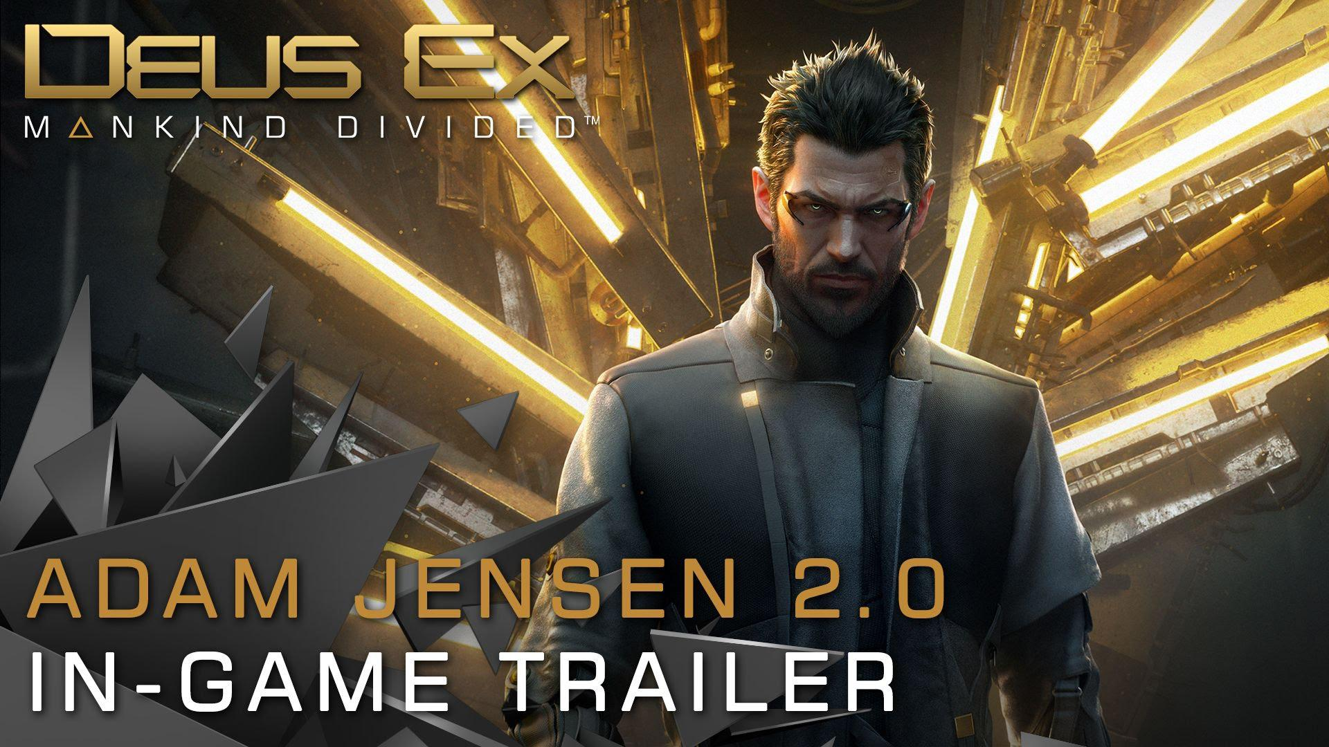 Deus Ex: Mankind Divided îl prezintă pe Adam Jensen 2.0, următorul pas în evoluție