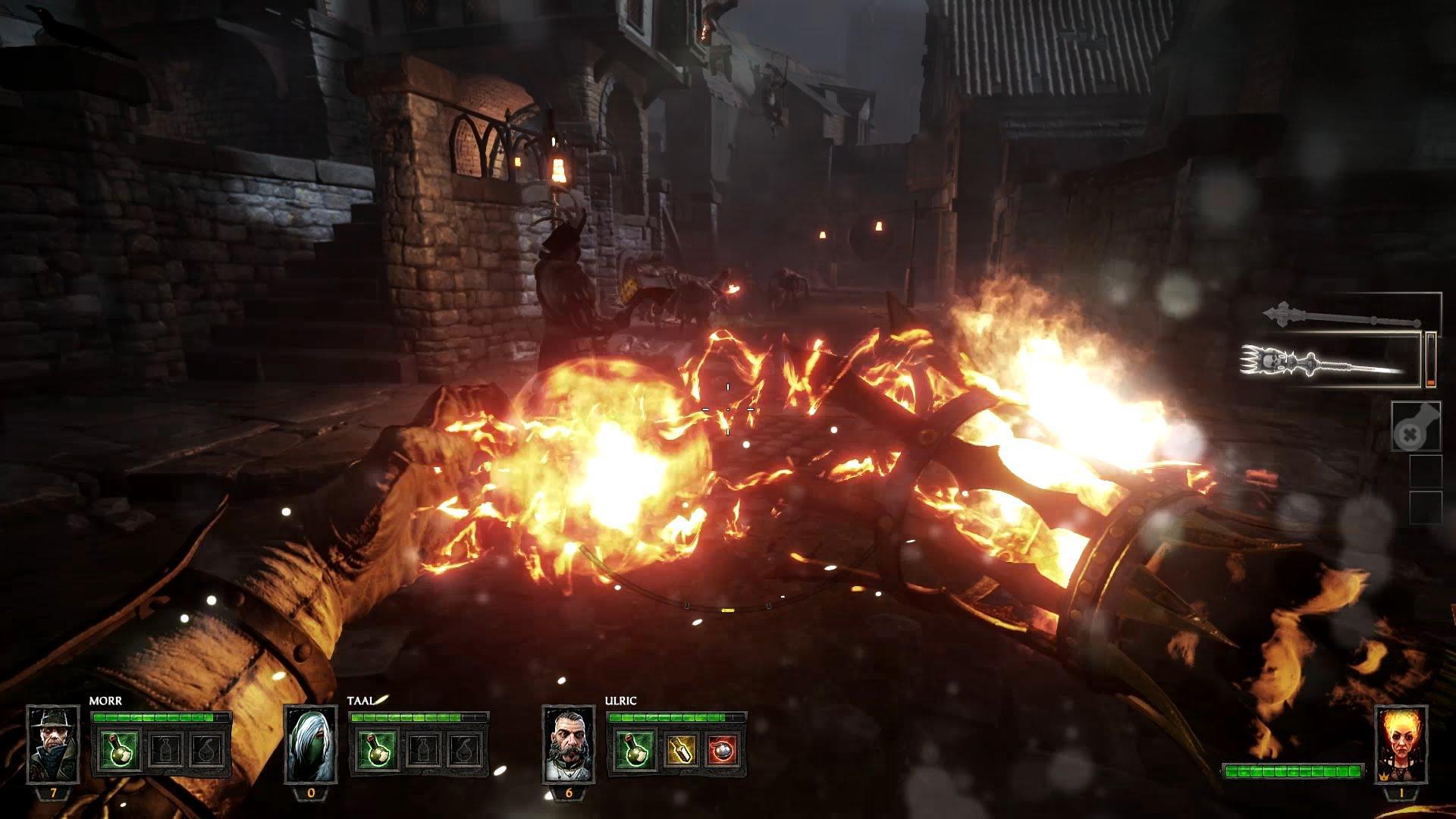 Eroina Sienna Fuegonasus din Warhammer: The End Times Vermintide prezentată